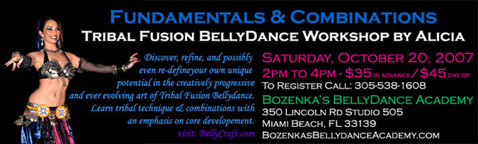 Alicia Tribal Fusion Workshop